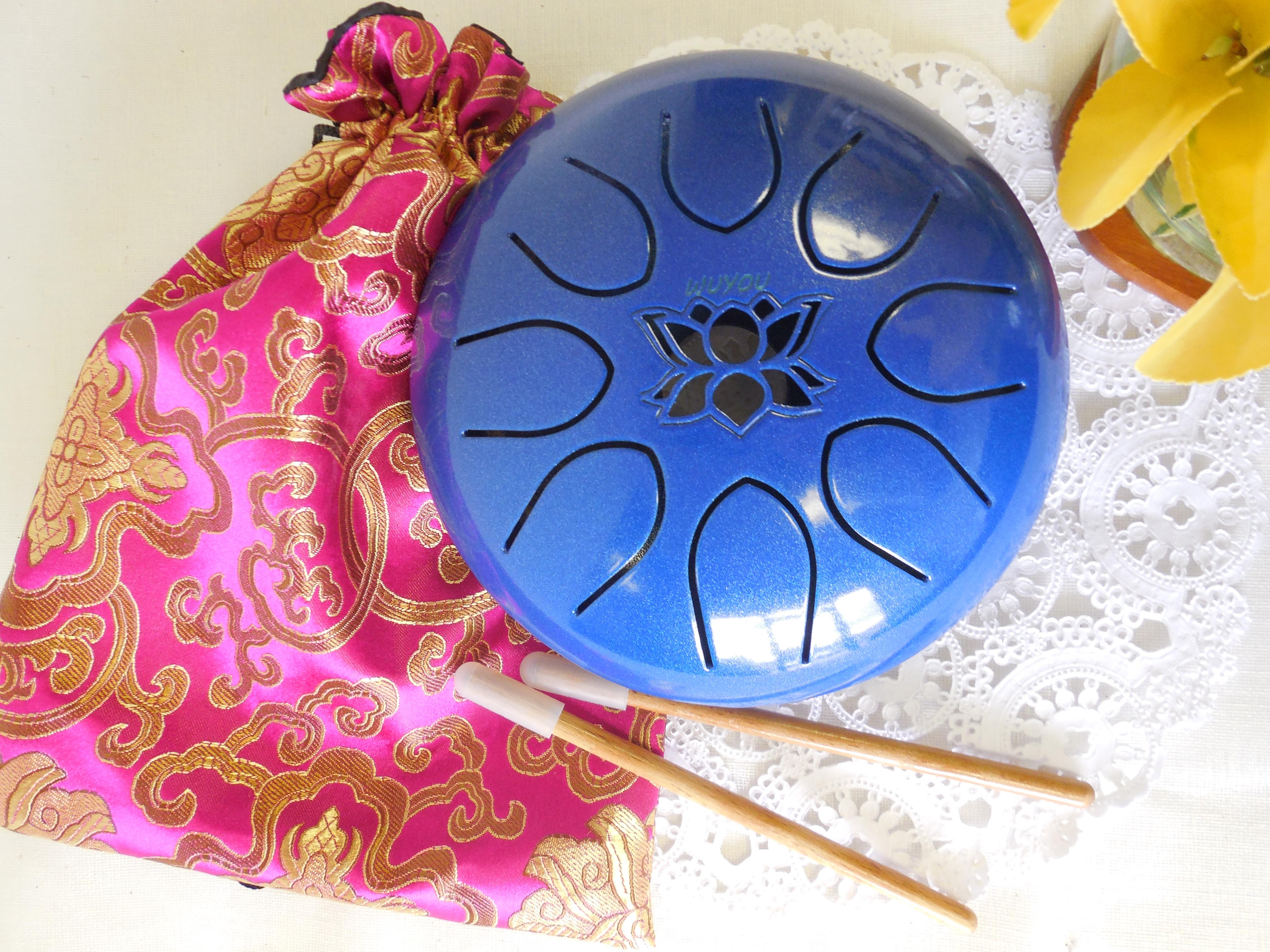 7in Lotus Drum