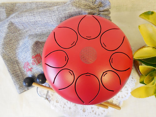 "7"" Mini Steel Tongue Drum/Tank Drum Handpan Great for Gift"