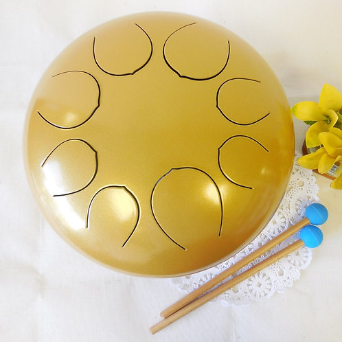12inch Steel Tongue Drum Tank Handpan Drum Special Notes