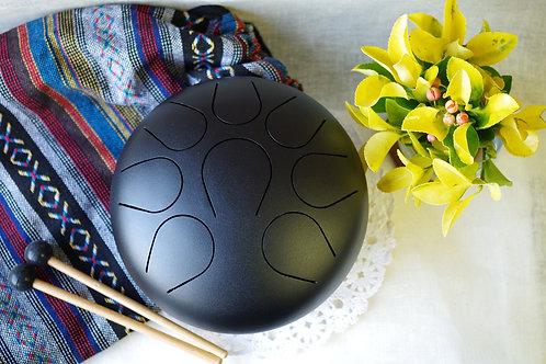 9in Steel Tongue Drum Handpan drum Chakra drum