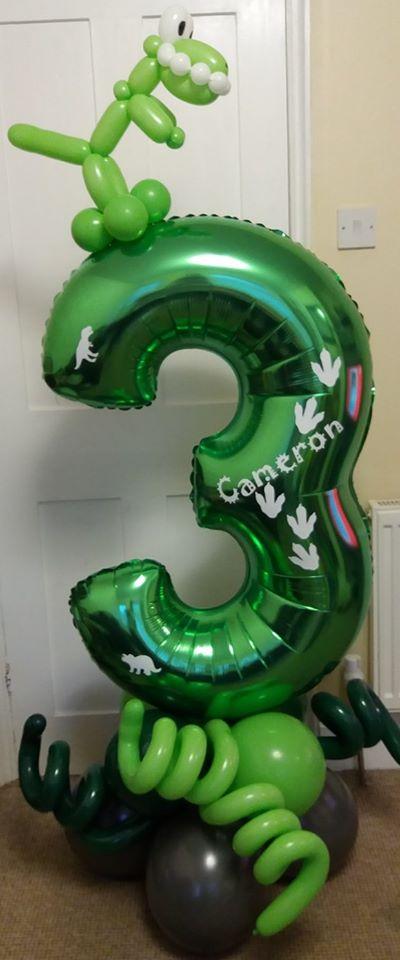 dinosaur number  £22