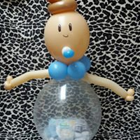 big baby filled with gifts from £20