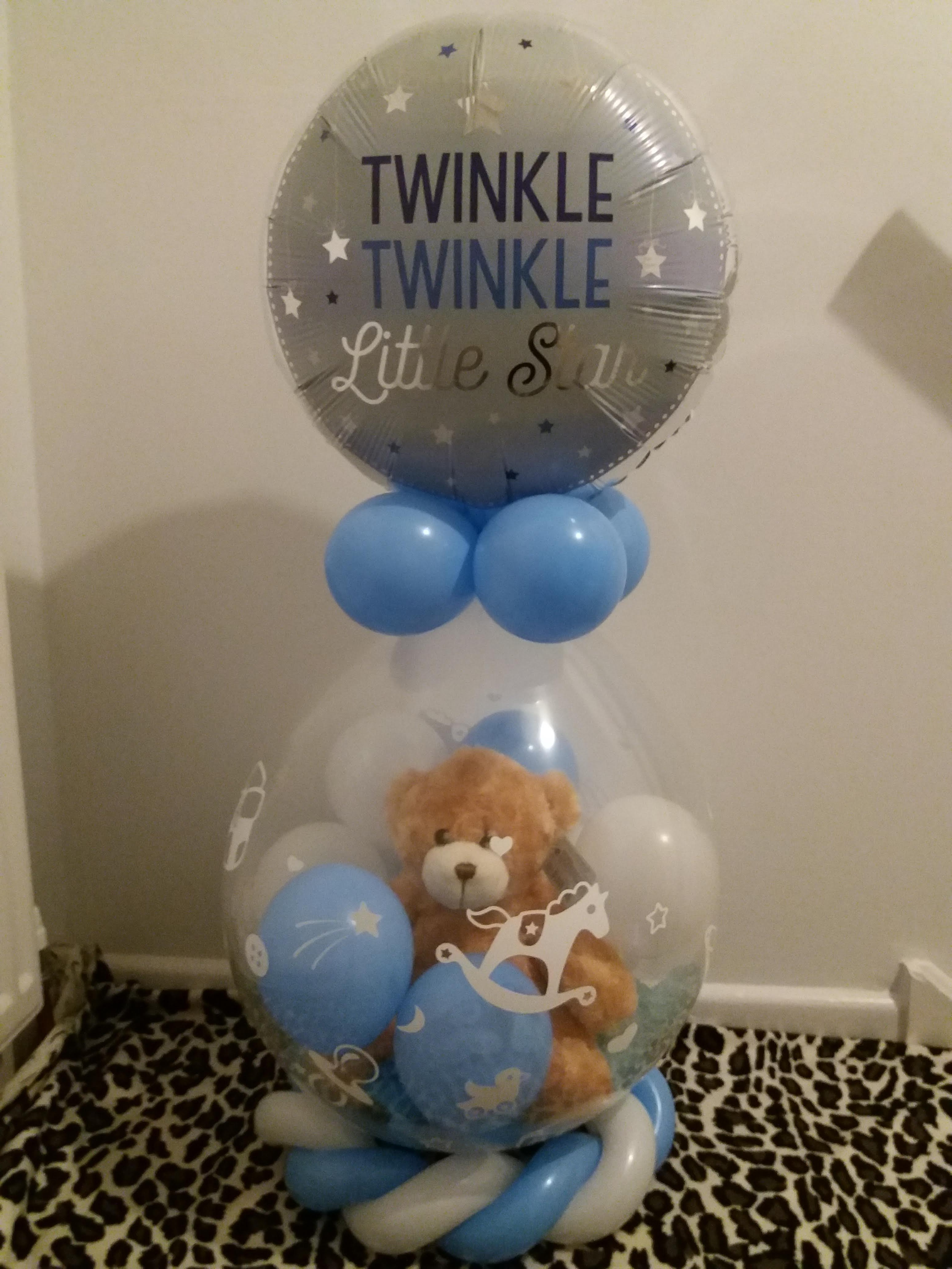 teddy stuffed baby arrival £20