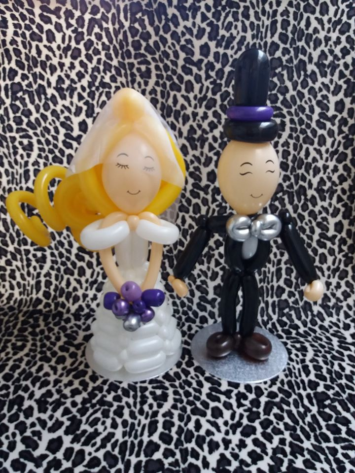 Table top bride and groom £45 includes delivery