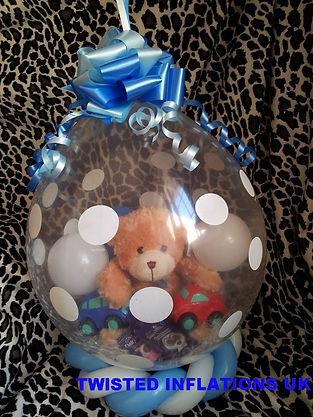 stuffed gift balloon