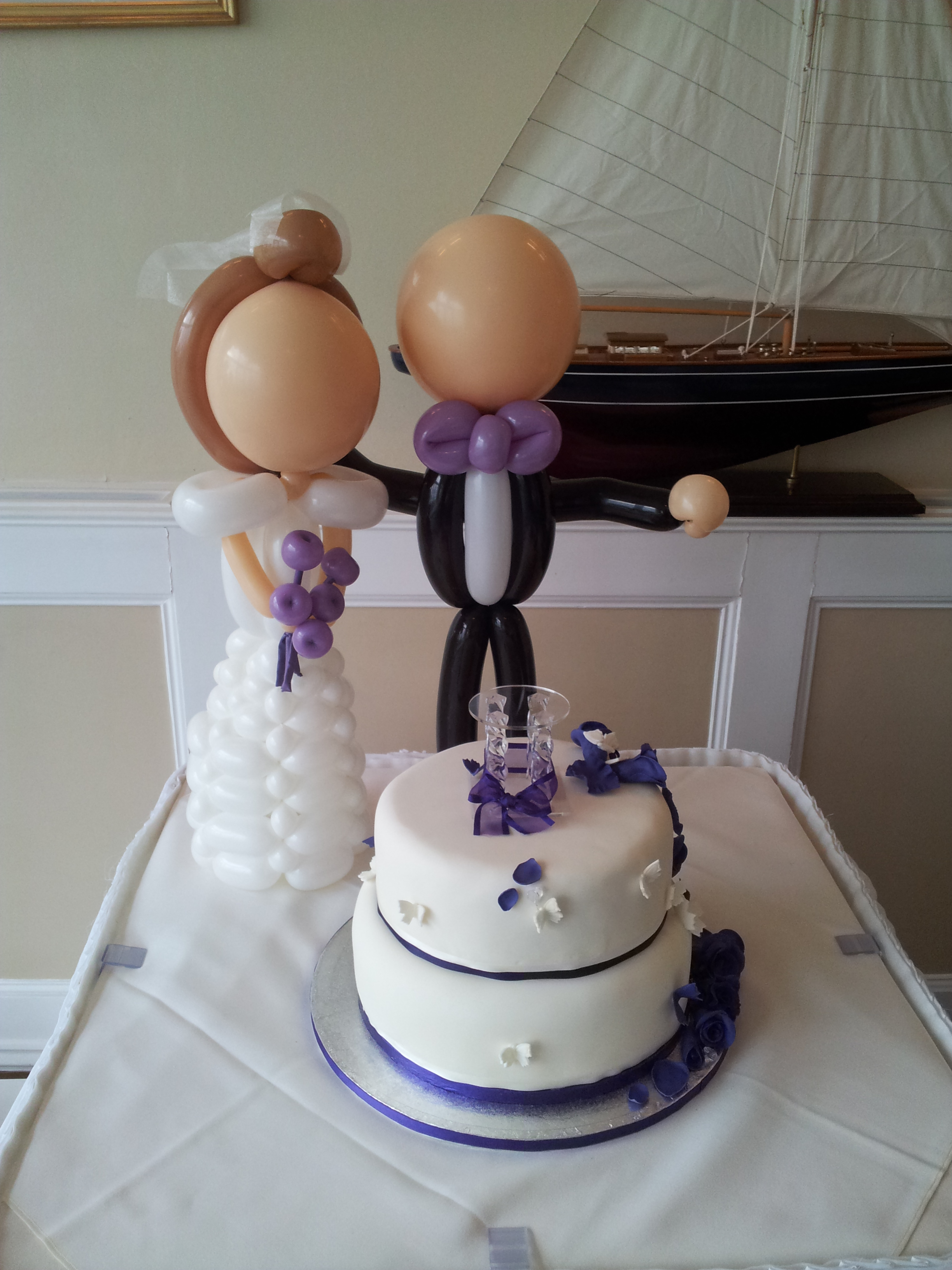 TABLE BRIDE AND GROOM £45