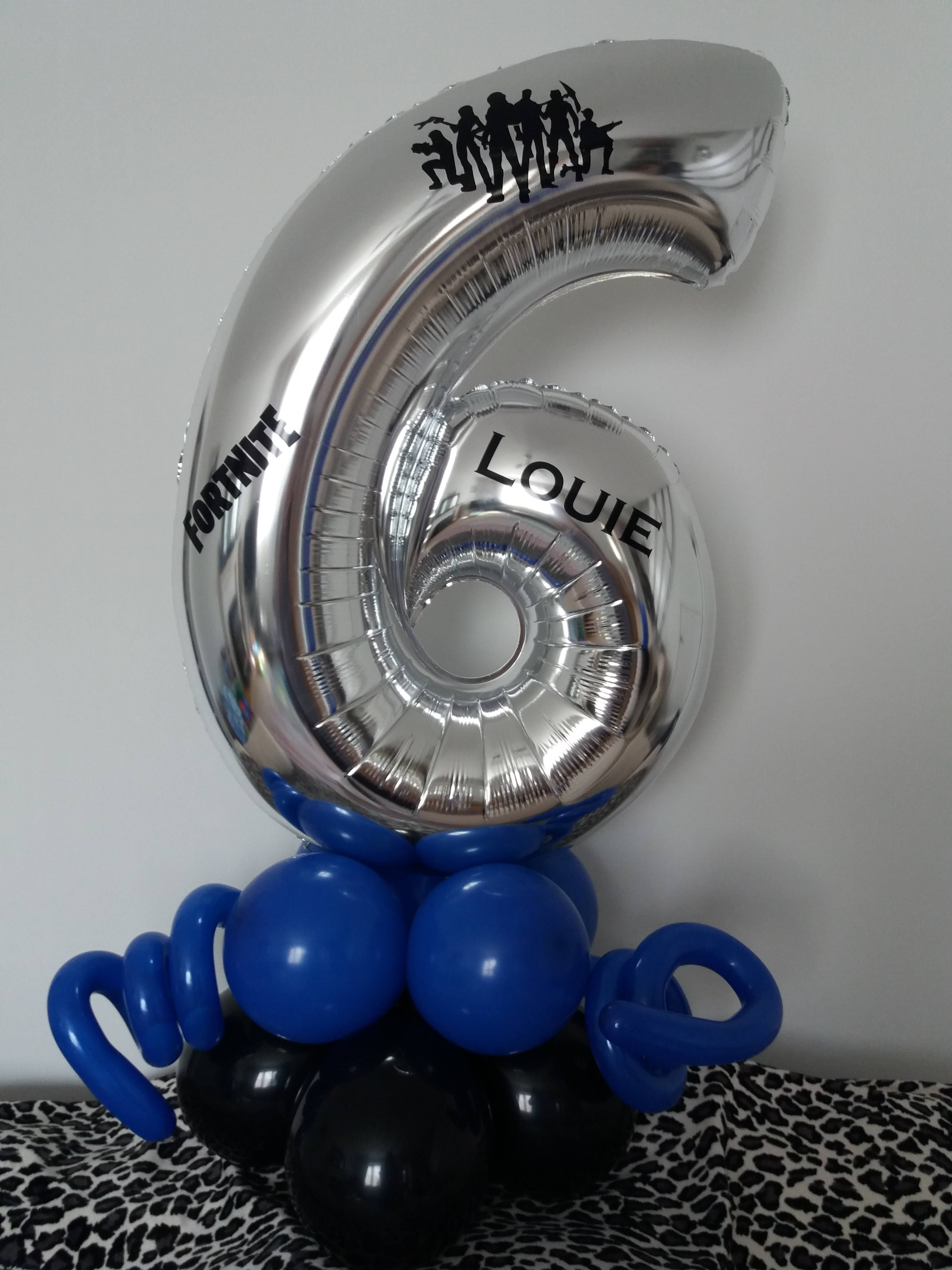 simple themed number with name £16