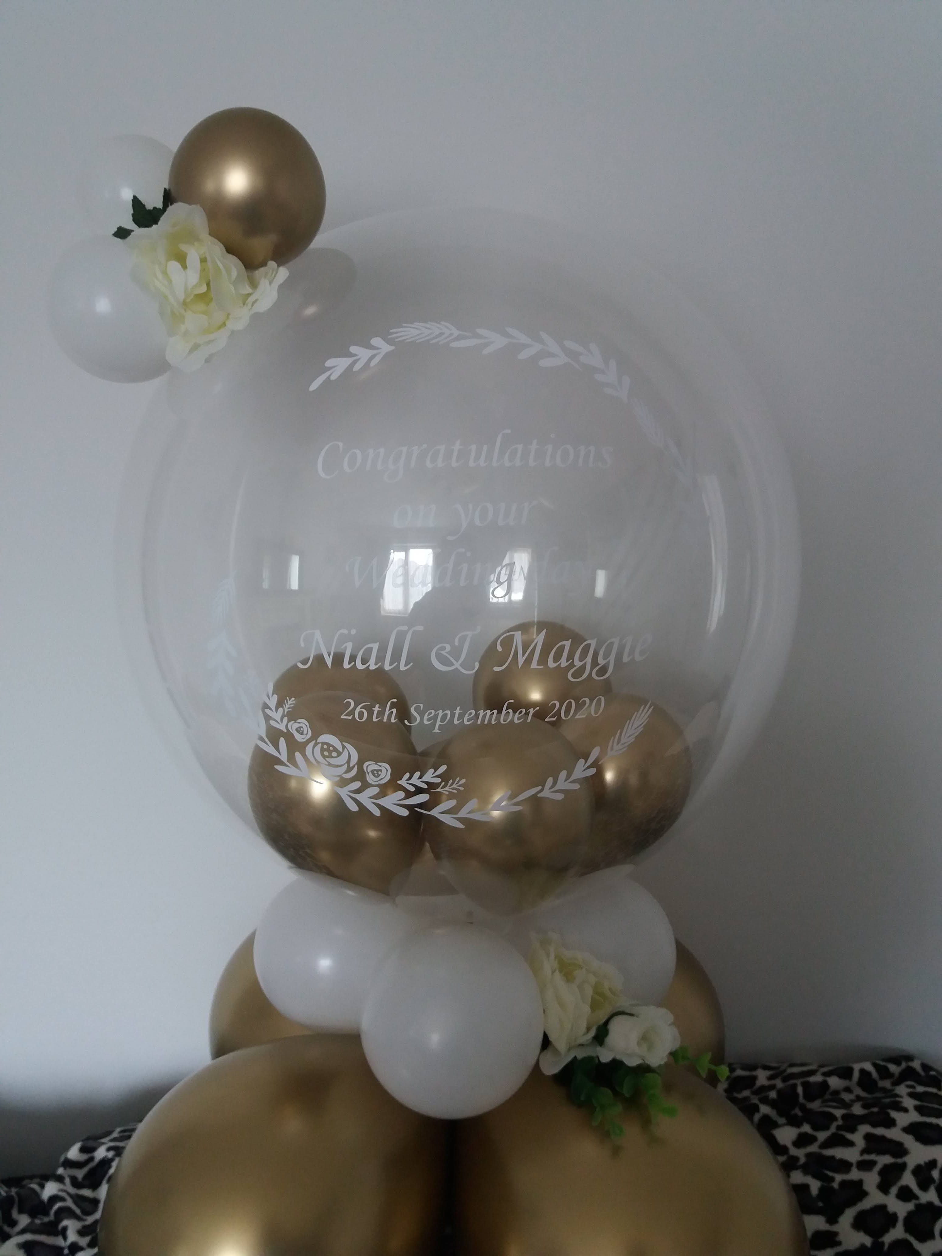 wedding bubble £20