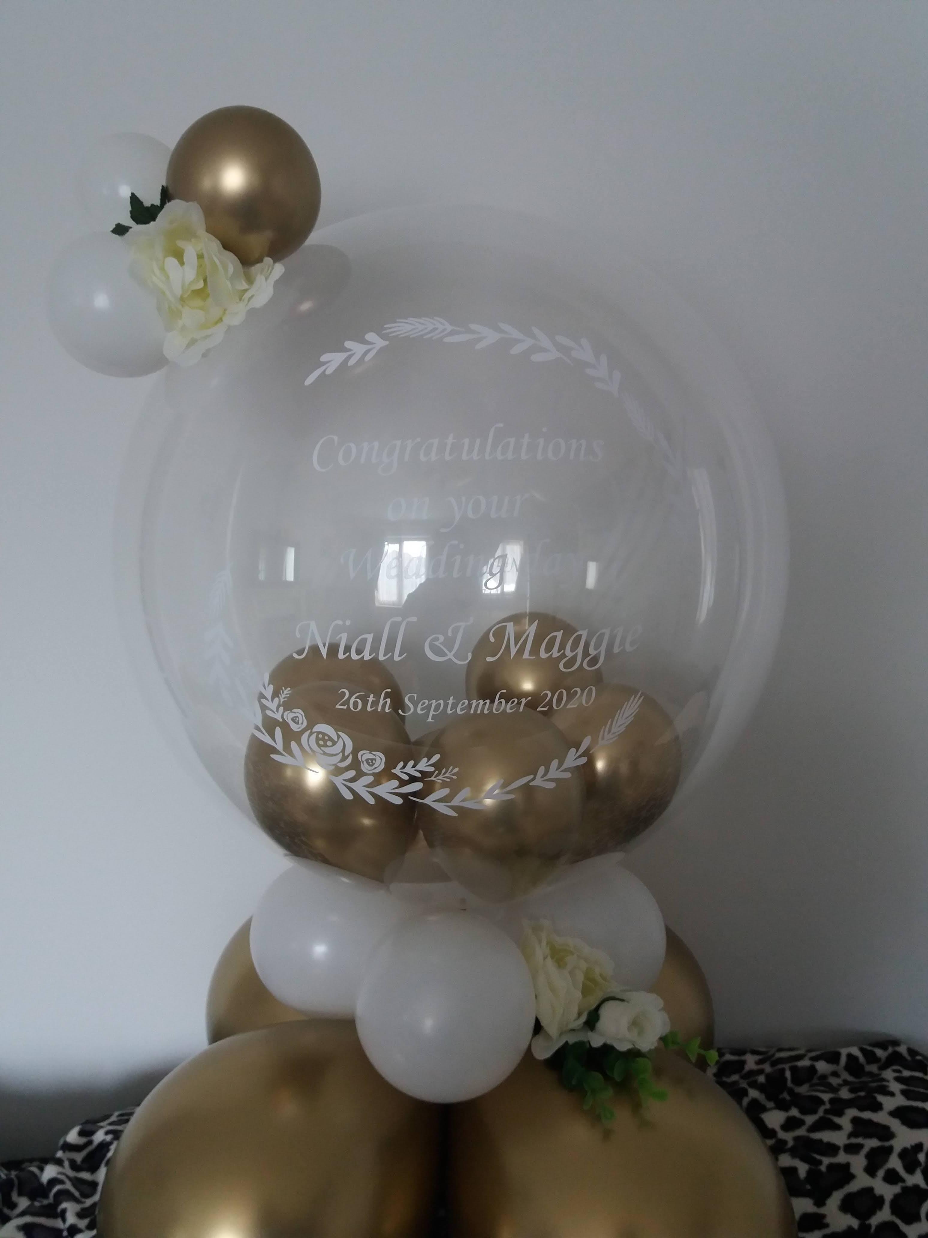 wedding bubble £20