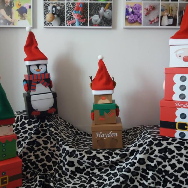 christmas gift box set. each character £10