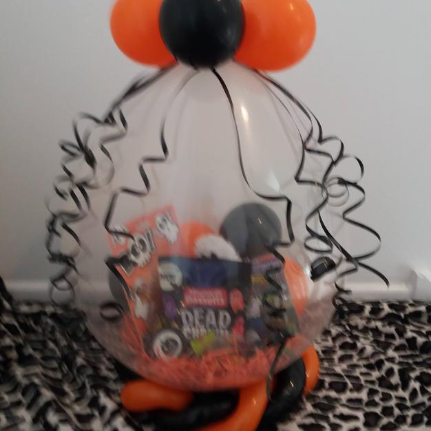 stuffed Halloween gift balloon £18