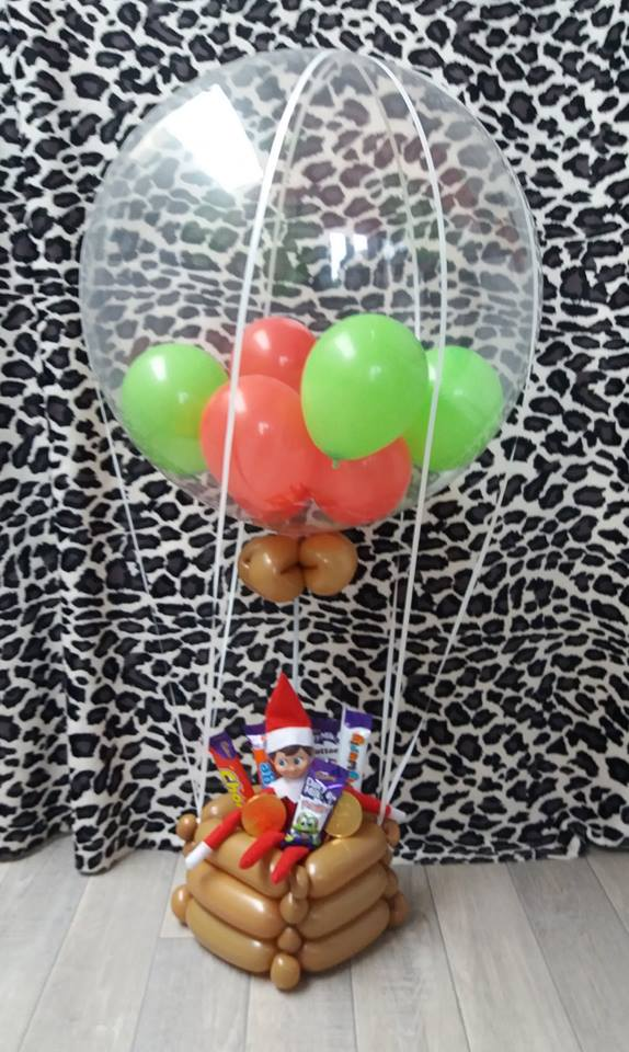 elf hot air balloon from £15