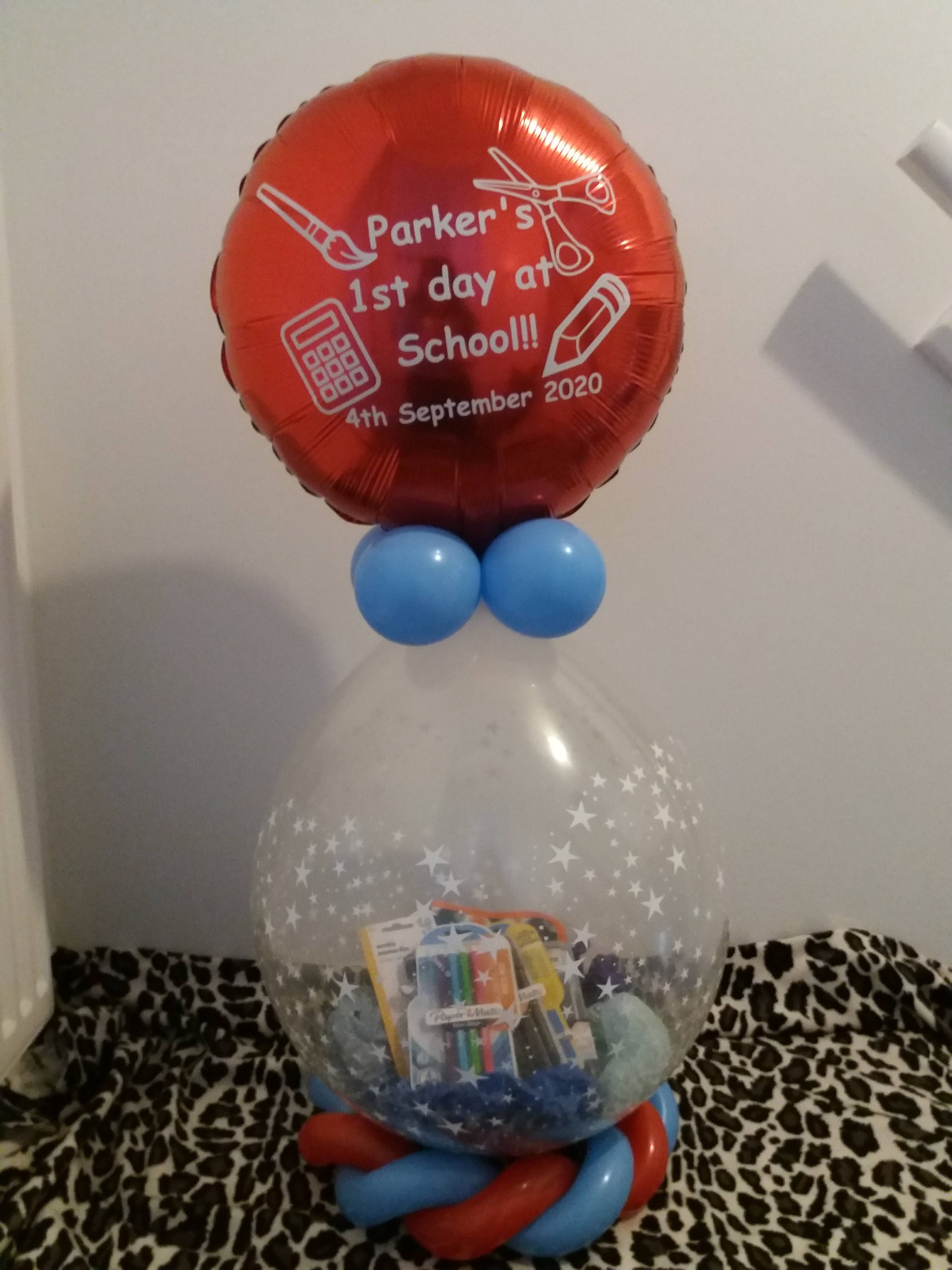back to school stuffed gift £20