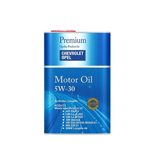 Olej 5W30 OPEL / GM Dexos 2 - 1 litr