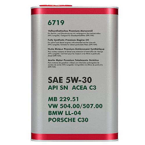 Olej 5W30 VW 504.00/507.00 - 1 litr