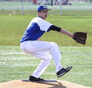 youth lefty baseball pitcher