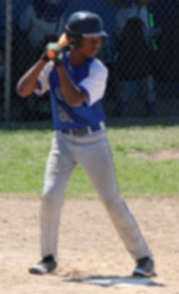 youth baseball batter
