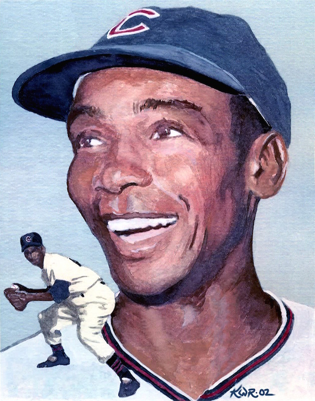Ernie Banks / 2002 / Watercolor