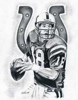 Peyton Manning / 2005 / Graphite