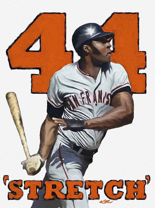 "Willie McCovey / 11""x14"" art print"