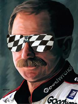 Dale Earnhardt, Sr. / 2005 / Acrylic