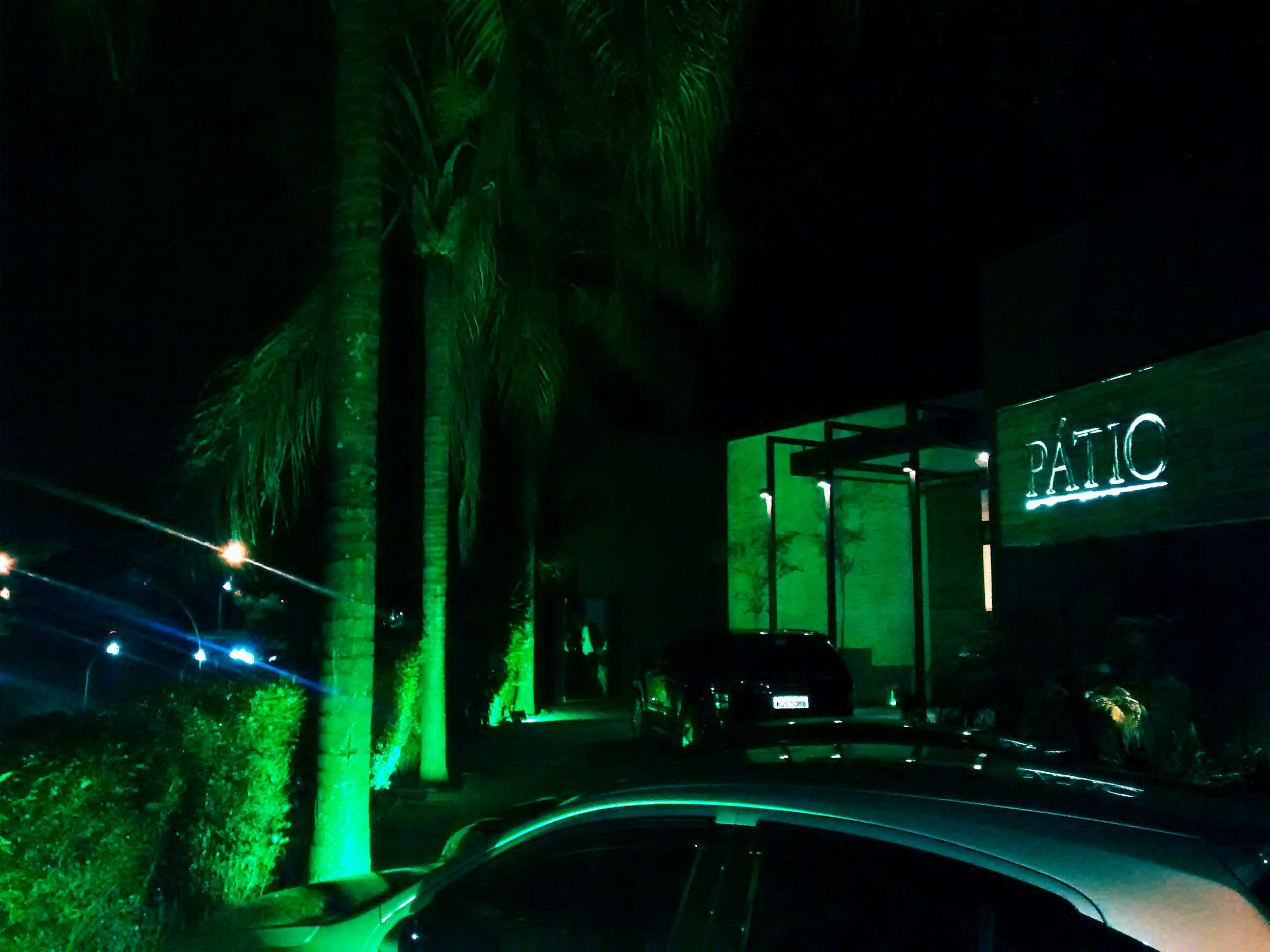 Luz decorativa, iluminação Cenica