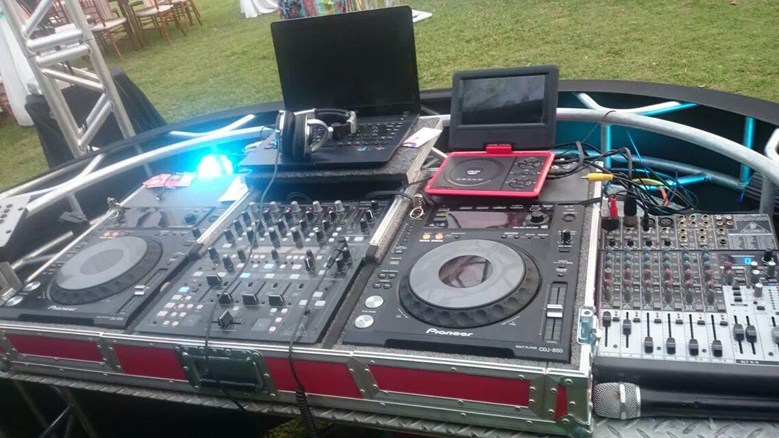 Aparelhagem profissional DJ