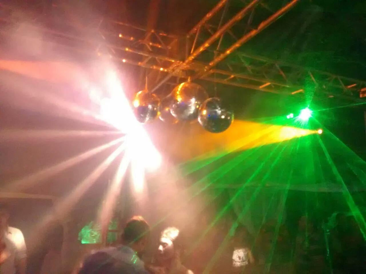 iluminação Pista de Dança, Globos