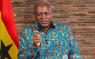 If Power Is Given, I'll Grow Ghanaian Businesses – Mahama Promises