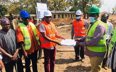 Busunu: NDA Cuts Sod For Construction Of 6-Classroom Project