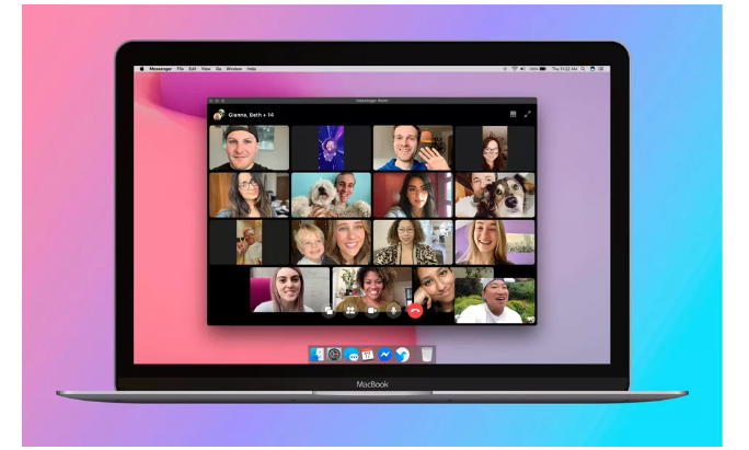 Facebook added a free group video chat feature called Messenger Rooms. Let's get started