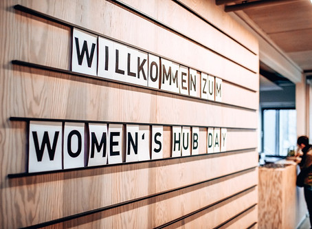 WOMEN'S HUB goes ECOLUTIONARY!