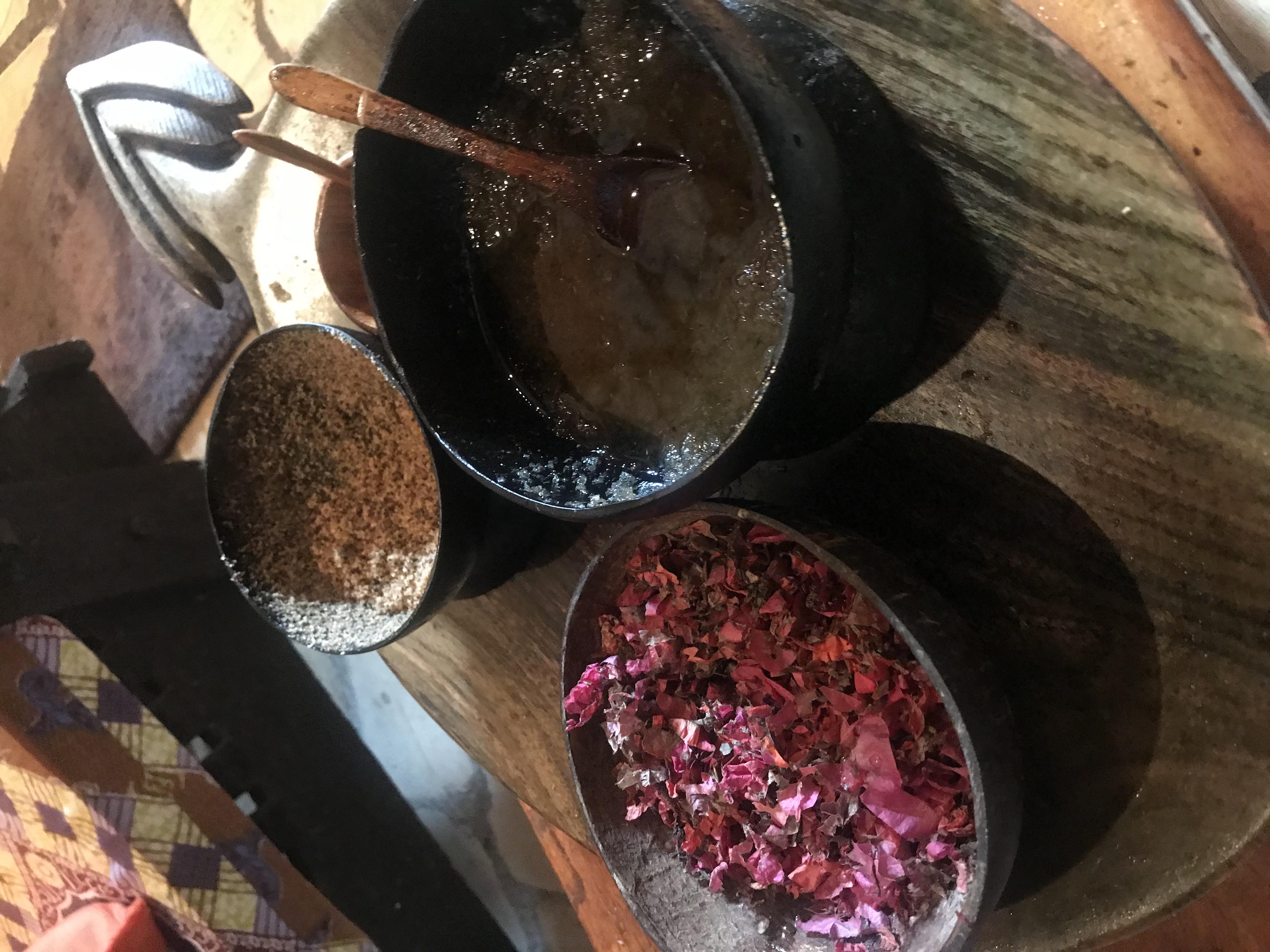 Body Scrub herbs