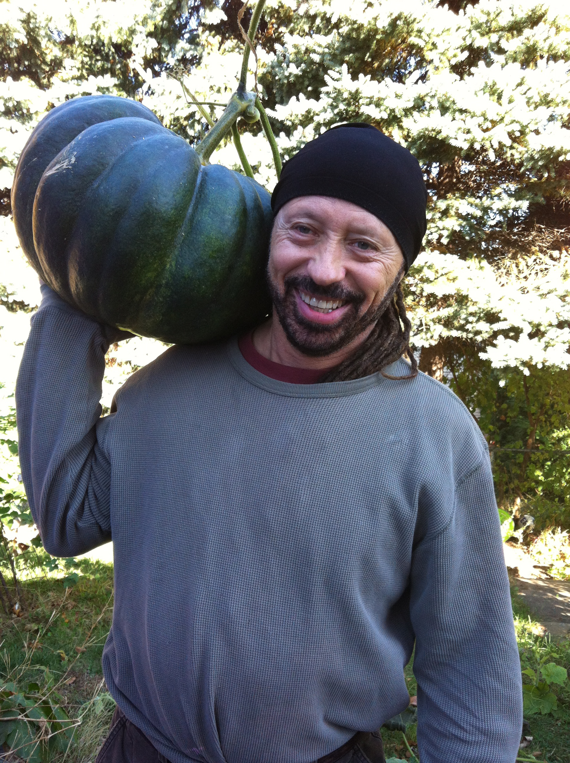 1st Pumkin harvest