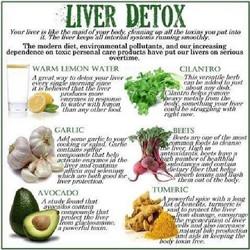 Liver Detox chart