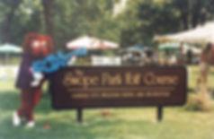 Swope Park Folf Course & FOX - Sign - !!