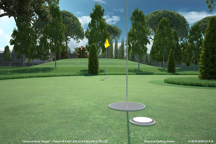 DISCOLF® - PRACTICE PUTTING GREEN - (clo