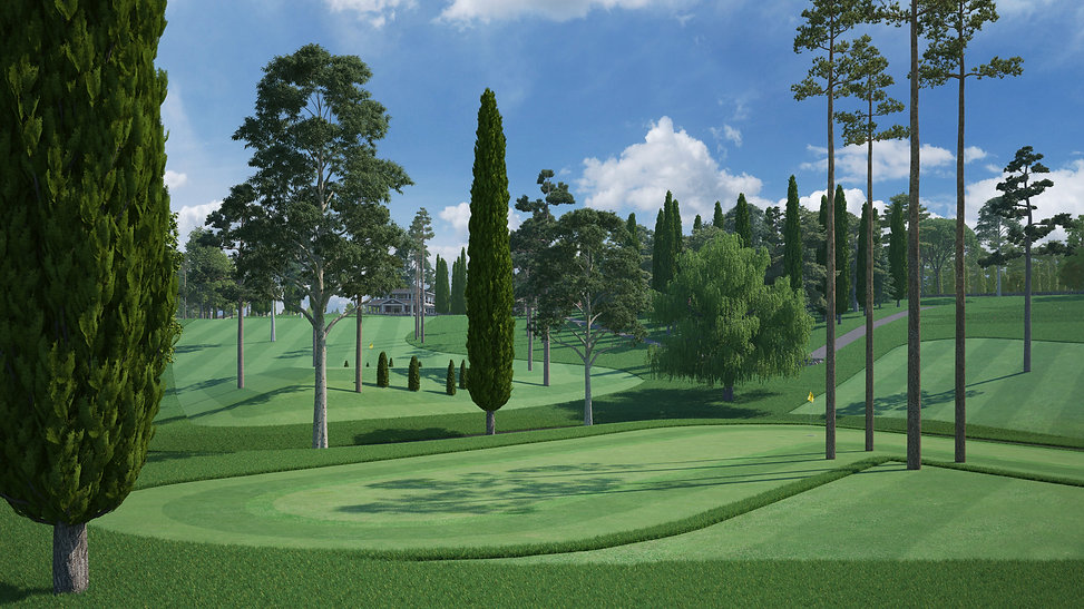 DISCOLF® - 1st & 2nd Holes - (cropped at