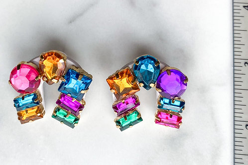 Lucky Studs in Mixed Crystal