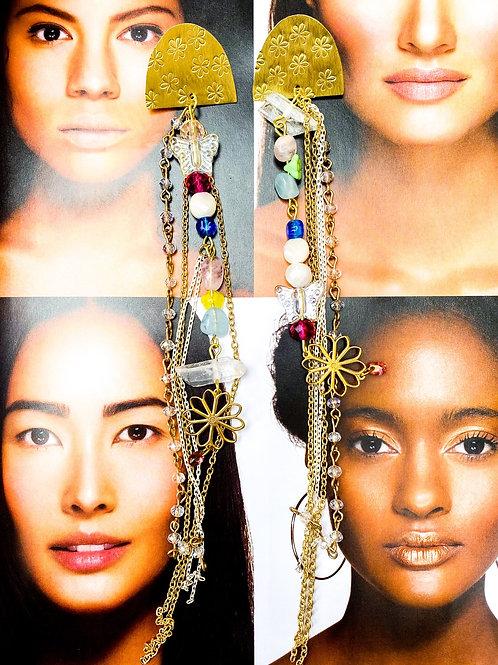 Joy Collarbone Duster Earrings