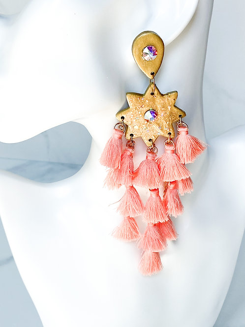 Bright Side Star Statement Earring