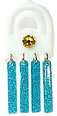 Jellyfish jewelry findings swarovsky crystal