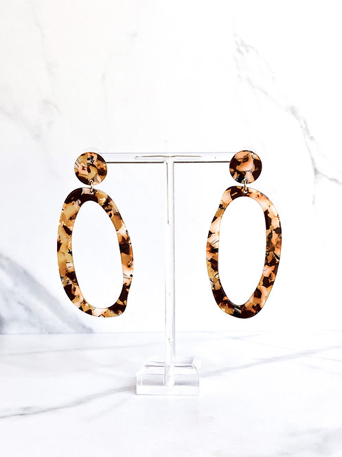 Transparent Tortoise Hoops