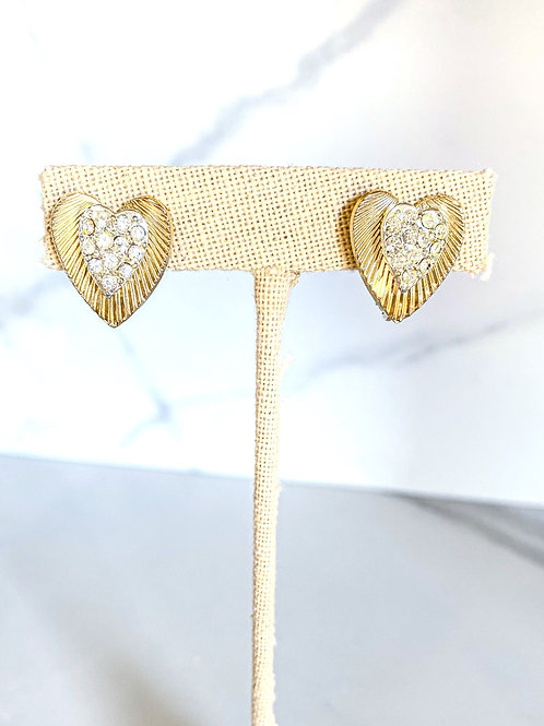 Dainty Heart Studs