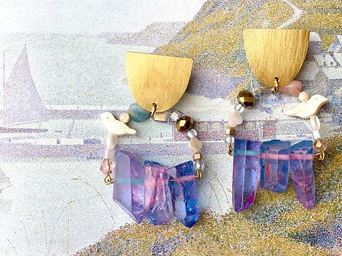 Daydream Birdcage Beaded Earrings