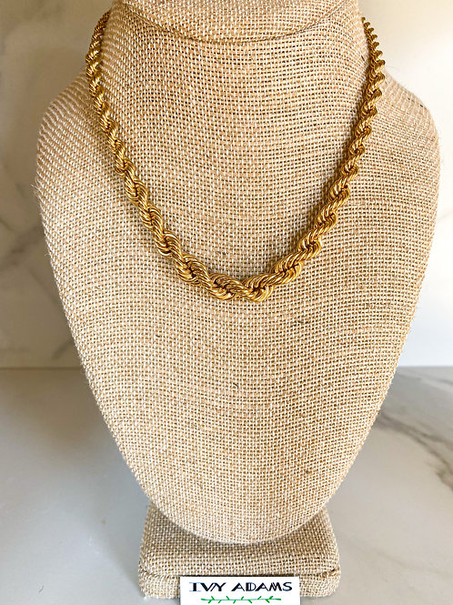 Graduated Rope Necklace