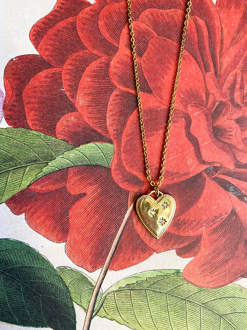 Gold-Filled With Love Necklace