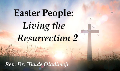 Easter People Living the Resurrection Pa