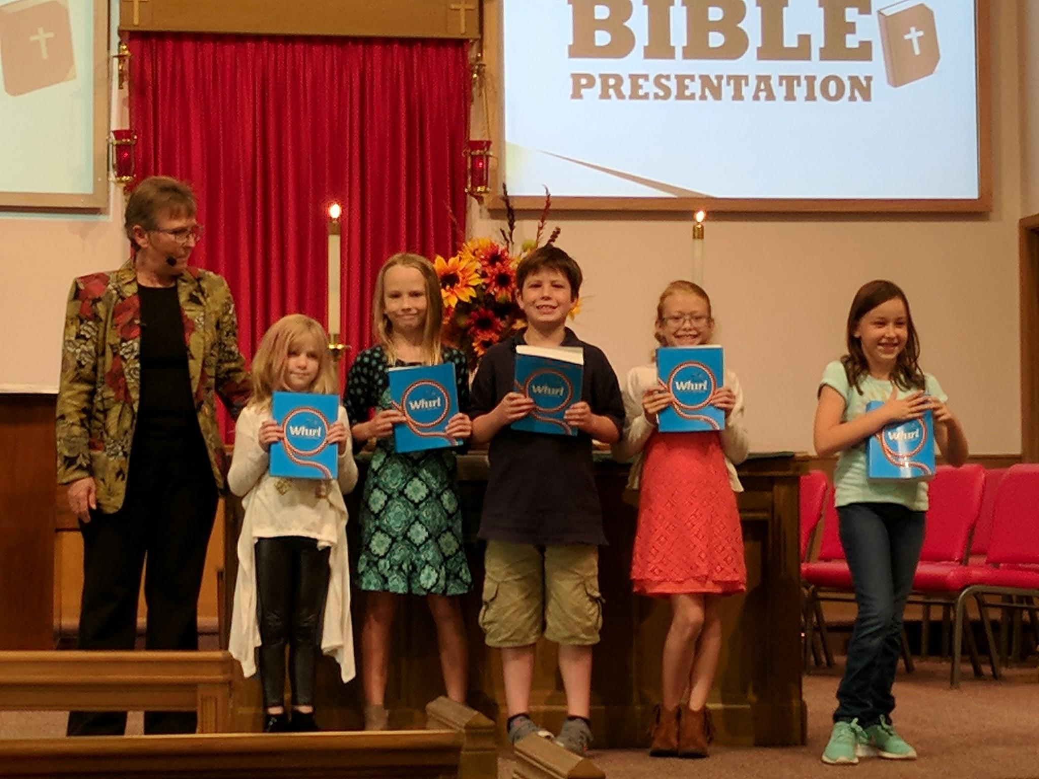 3rd grade Bibles