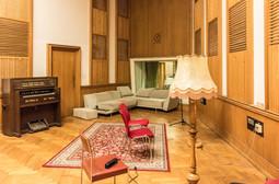 La sala in cui ha registrato Sting.